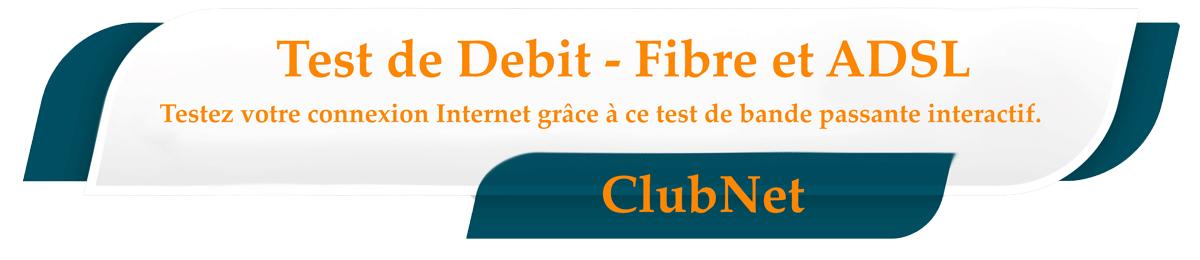 test de debit - speed test